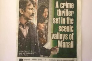 A crime Thriller set in the Scenic Valleys of Manali
